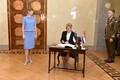 Президент Эстонии Керсти Кальюлайд встретилась с президентом Хорватии Колиндой Грабар-Китарович.