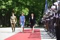 Horvaatia president Kolinda Grabar-Kitarovic ja Eesti president Kersti Kaljulaid..