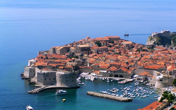 Дубровник - популярный курорт Хорватии.