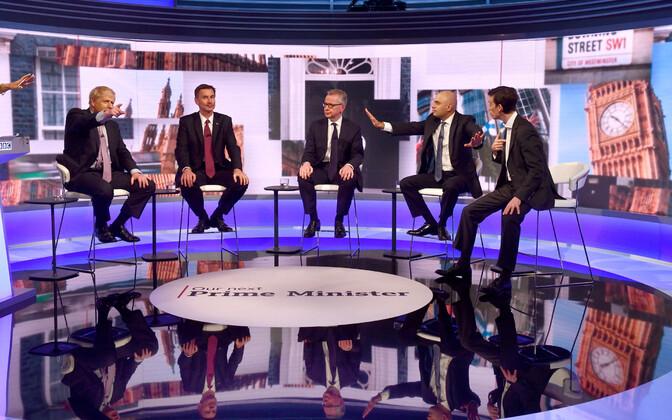 Briti Konservatiivse Partei juhikandidaatide debatt BBC-is.