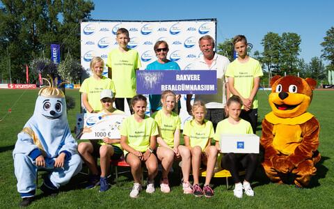 TV10 Olümpiastarti 48. hooaja võitis Rakvere Reaalgümnaasium.