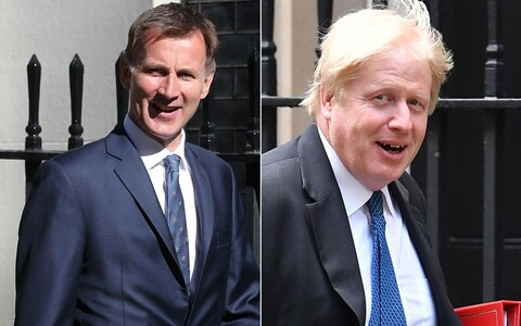 Michael Gove, Boris Johnson, Sajid Javid ja Jeremy Hunt.