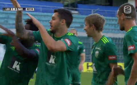 FCI Levadia mängijad tähistamas.