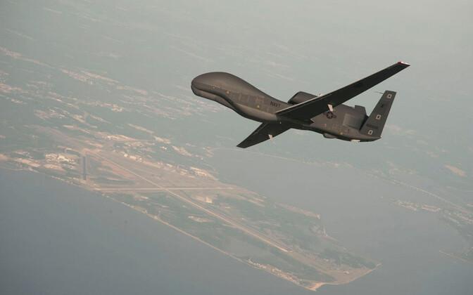 USA droon RQ-4 Global Hawk, arhiivifoto.