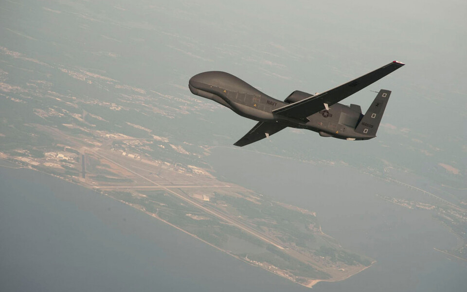 USA droon RQ-4 Global Hawk, arhiivifoto.