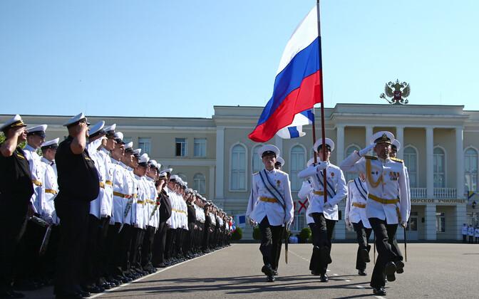 Российские военные в Севастополе.