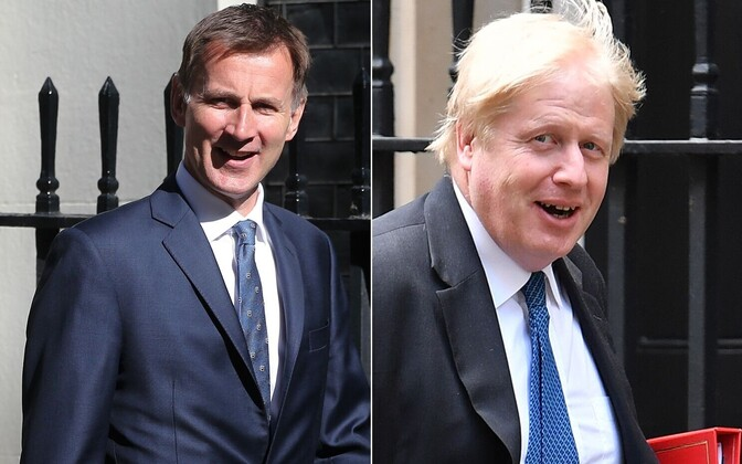 Jeremy Hunt ja Boris Johnson.