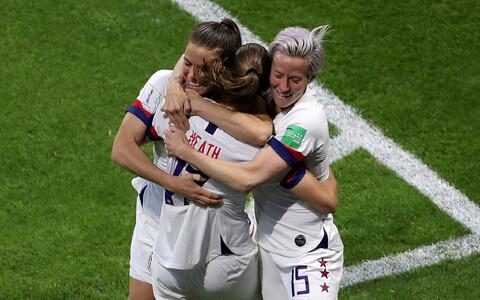 USA naiste jalgpallikoondis