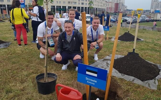 Eesti esindajad Eesti puuga