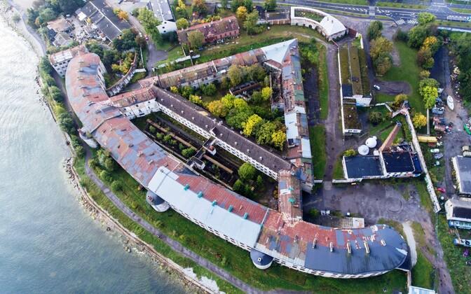 patarei Sea Fortress complex.