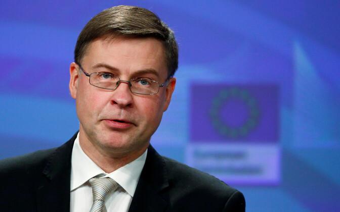 Euroopa Komisjoni asepresident Valdis Dombrovskis.