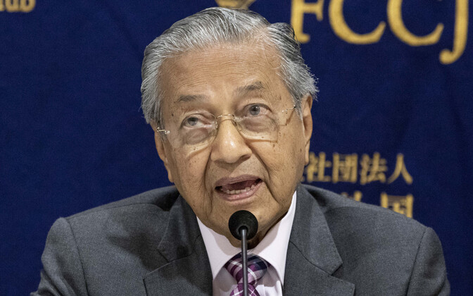Malaisia peaminister Mahathir bin Mohamad.