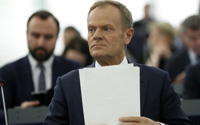 Глава Евросовета Дональд Туск.