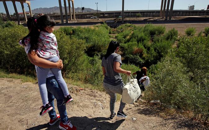 USA-sse jõuda soovivad Kuuba migrandid.