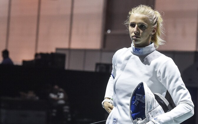 Fencer Katrina Lehis.