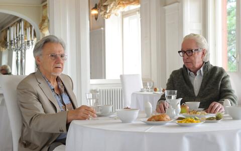 Harvey Keitel (vasakul) ja Michael Caine.