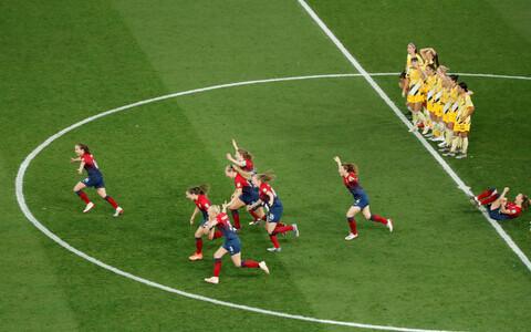 Naiste jalgpalli MM: Norra - Austraalia