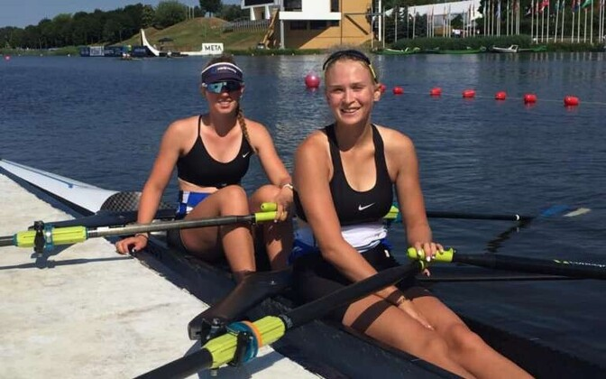 Grete Alttoa (vasakul) ja Greta Jaanson Poznanis