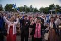 Концерт певческого праздника в Тарту.