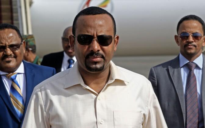 Etioopia peaminister Abiy Ahmed.