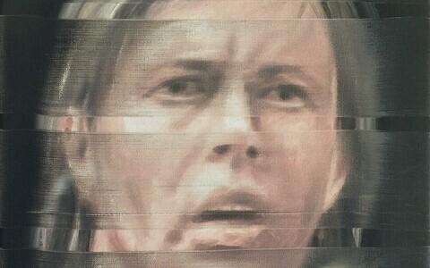 Ivar Kaasik. Presidendi portree. Õlilõuendil.