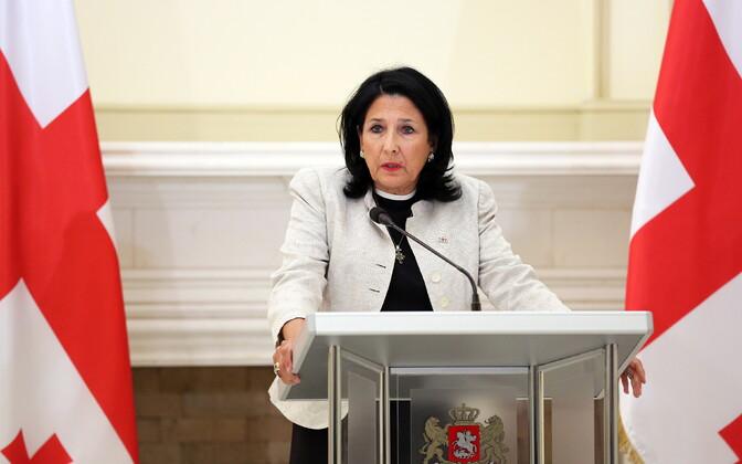 Salome Zurabišvili.