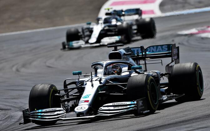 Lewis Hamilton ja Valtteri Bottas Prantsusmaal