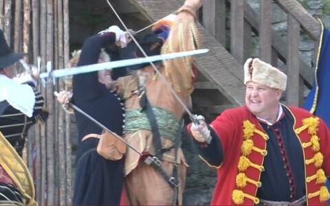 Средневековый фестиваль в Нарве.