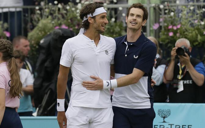 Feliciano Lopez ja Andy Murray