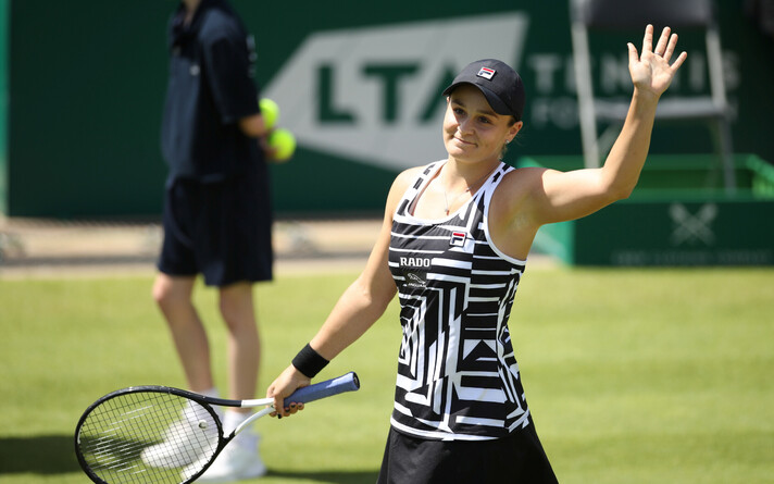 Эшли Барти возглавила рейтинг WTA.