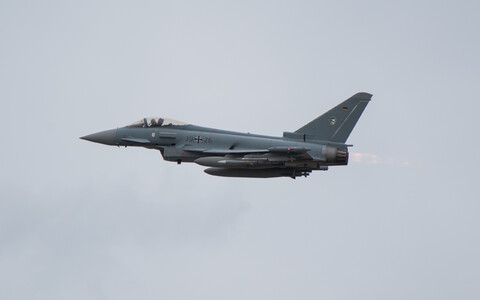 Немецкий Eurofighter Typhoon.