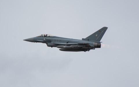 Немецкий Eurofighter Typhoon.