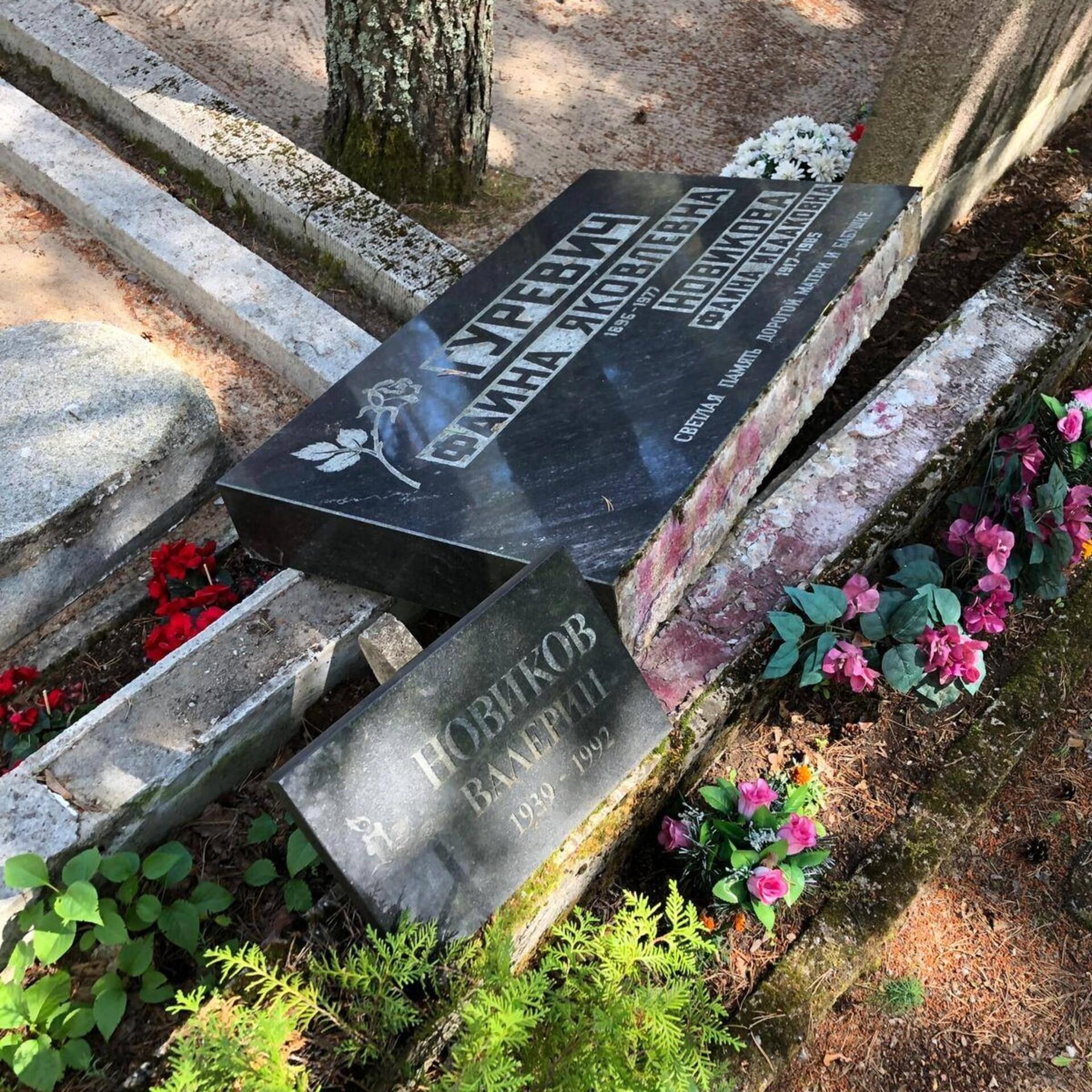 14161278f19 Vandaalid lõhkusid juudi kalmistul hauakive | Eesti | ERR