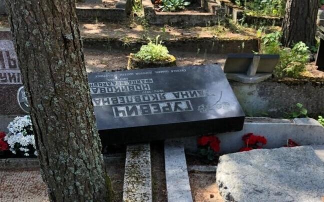 Еврейское кладбище в Таллинне, на котором произошел акт вандализма, не пострадало даже во время нацистской оккупации.