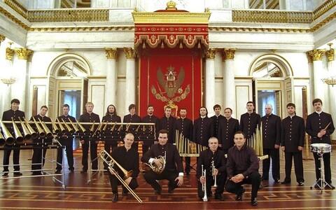 Государственный роговой оркестр из Санкт-Петербурга.