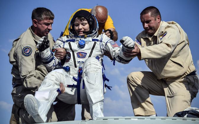 NASA astronaut Anne McClain tagasi Maal.