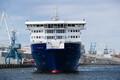 Новое судно Eckerö Line в порту Мууга