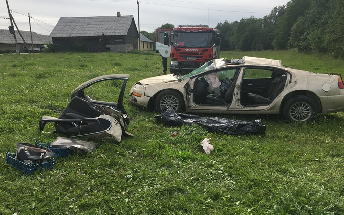 Liiklusõnnetus Järvamaal.