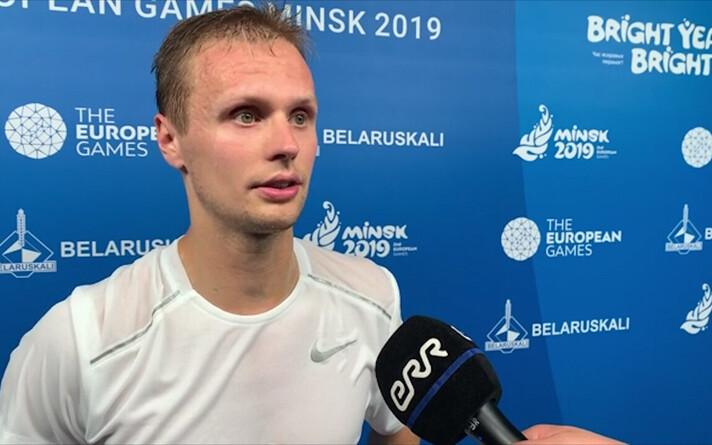 Рауль Муст вышел в четвертьфинал на играх в Минске.