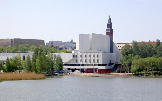 Finlandia-talo Helsingis.