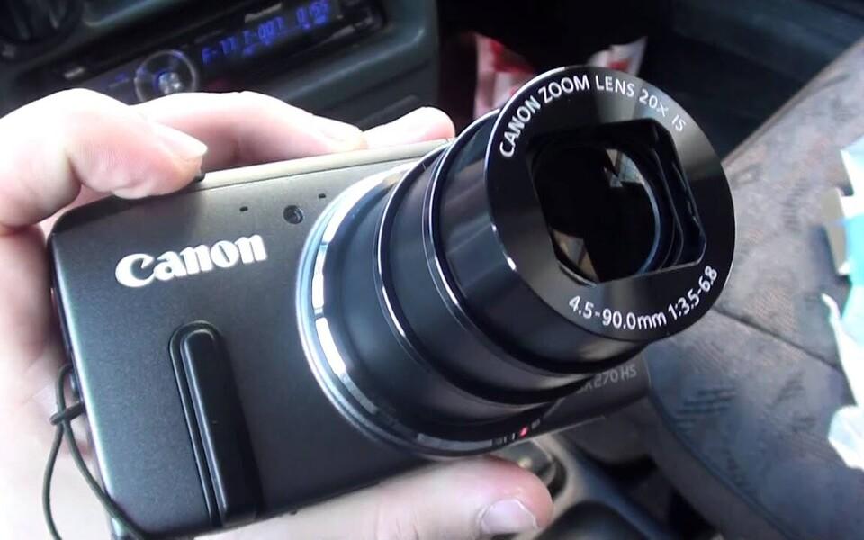 Canon PowerShoot SX270.
