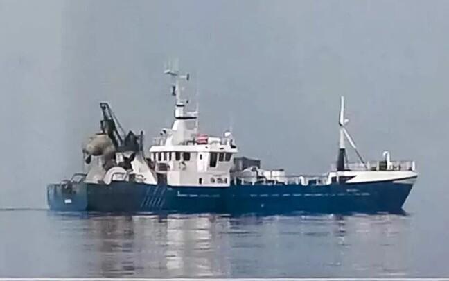 Рыболовецкое судно Roxen было задержано около Калининграда.