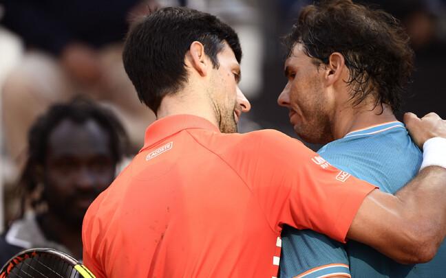 Novak Djokovic ja Rafael Nadal