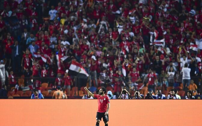 Mohamed Salah ja Egiptuse poolehoidjad