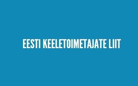 Eesti keeletoimetajate liit