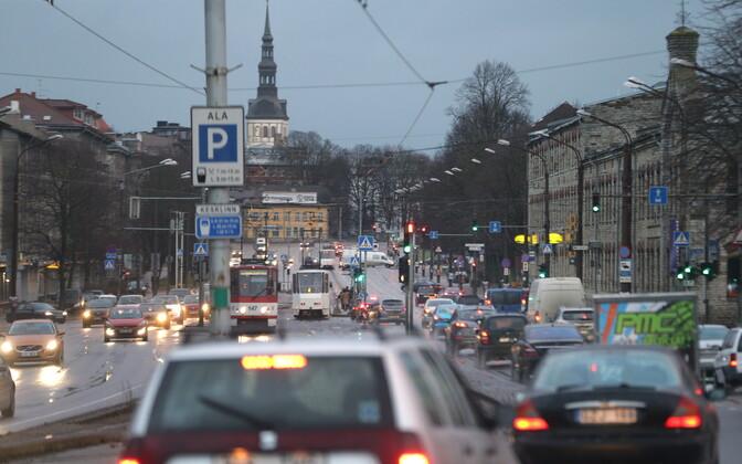 Tallinn's Pärnu Highway.