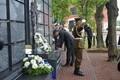 Tondil avati memoriaal langenud Eesti ohvitseridele.