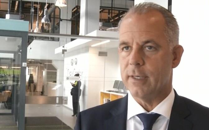 Air Baltic CEO Martin Gauss.