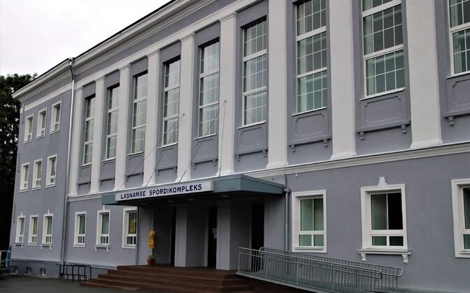 Ласнамяэский спортивный комплекс получил новый внешний вид.