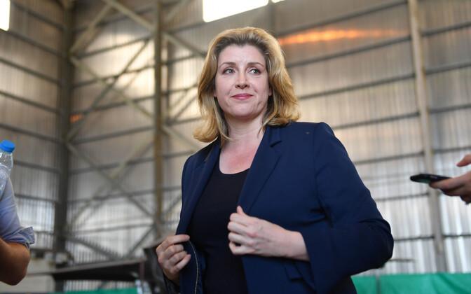 Briti kaitseminister Penny Mordaunt.
